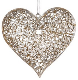 Filigree Metal Heart
