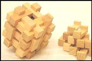 24 piece wooden puzzle solution