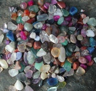 500g Small 10mm-20 mm Mixed Tumble Stones Wholesale Bulk 250g 25g 50g 100g