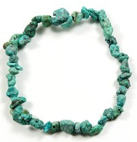 Tibetan Turquoise Crystal Chip Power Bracelet
