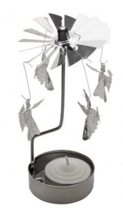Rotating Angel Tealight Holder