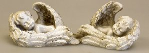 Set of 2 Cherubs SleepingS