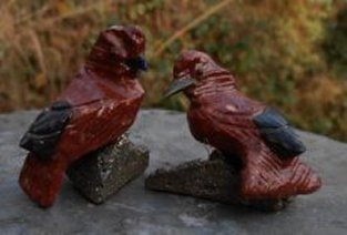 Crystal Love Bird Pair 36