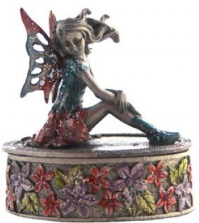 Pewter Fairy boxB