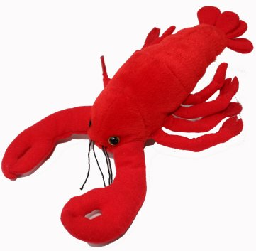 Bargain Lobster Finger Puppet