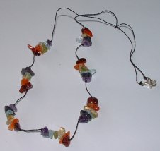 Crystal Chakra Necklace