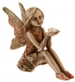 Pewter jewel fairy