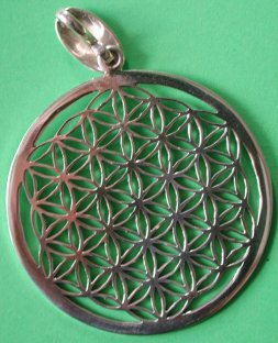 Flower of Life Pendant 30mm