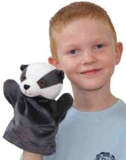 First Puppet Badger