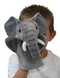 First Puppet Elephant