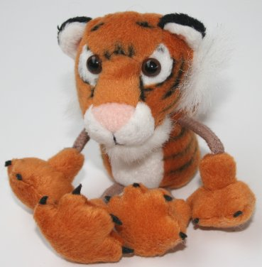 Zoo Tiger Finger Puppet
