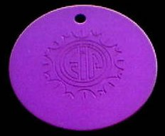 Large Purple Disc