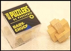 Mini Wooden Puzzler Baby Chuck