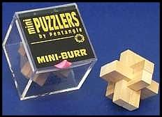 Mini Wooden Puzzler Mini Burr