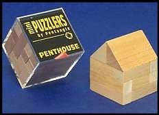 Mini Wooden Puzzler Penthouse