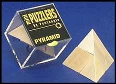 Mini Wooden Puzzler Pyramid