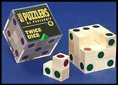 Mini Wooden Puzzler Twice-Dice