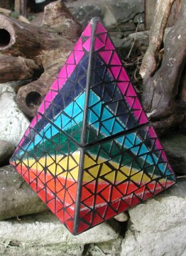 Rainbow Pyramid Box