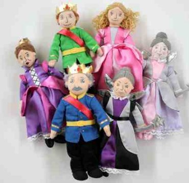 Sleeping Beauty Finger Puppet Set